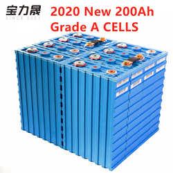 2020 Nuovo 3.2V200ah Grade a Celle Delle Batterie LiFePO4 Ricaricabile Calb SE200FI Plastica 12v24V per Pack Ev Solare Us Eu Au tax-Free