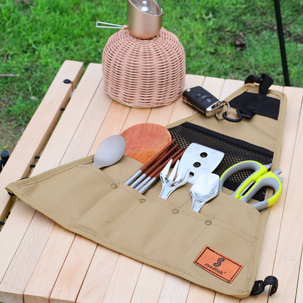Outdoor Camping BBQ Storage Bag Waterproof Storage Bag 900D Oxford Fabric