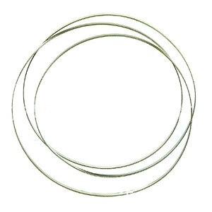 Image 5 - 37 59*1/8 inç paslanmaz çelik Bimetal testere bıçağı dikişsiz dairesel elmas şerit testere kesme bıçağı grafit cam taş
