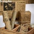 10 шт./лот Ретро Винтажные канцелярские товары, журнал, материал, бумага, декоративная бумага для конверта, пакет, путешествия, дневник, альбо...
