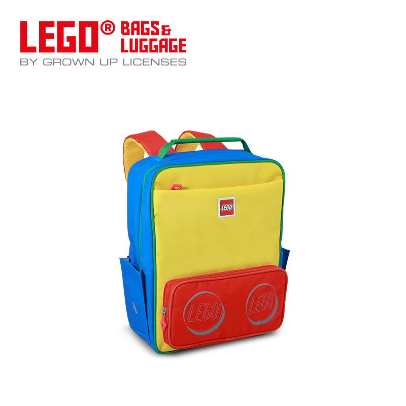 Lego LEGO New Style Large Capacity Backpack Casual Schoolbag Light Burden Relieving Travel 20134