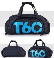 T60 Wasserdicht Gym Sport Taschen Männer Frauen molle Fitness Training Rucksäcke Multifunktionale Reise/Gepäck bolsa Schulter Handtaschen
