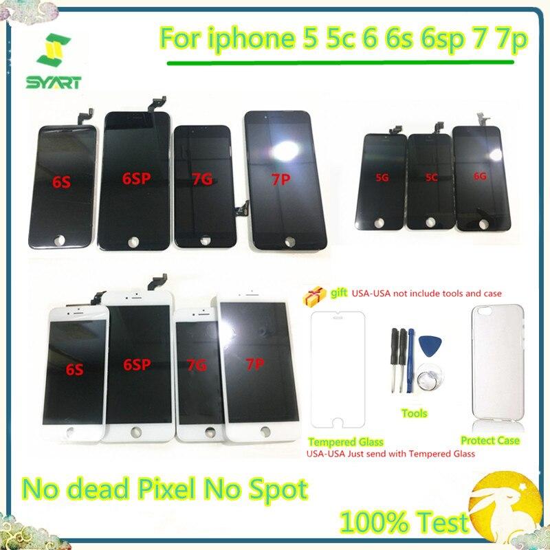 SYART Lcd-Display Lcd-Screen Digitizer iPhone6s Pantalla for Lcds 6SP 7-7p 100%Tested