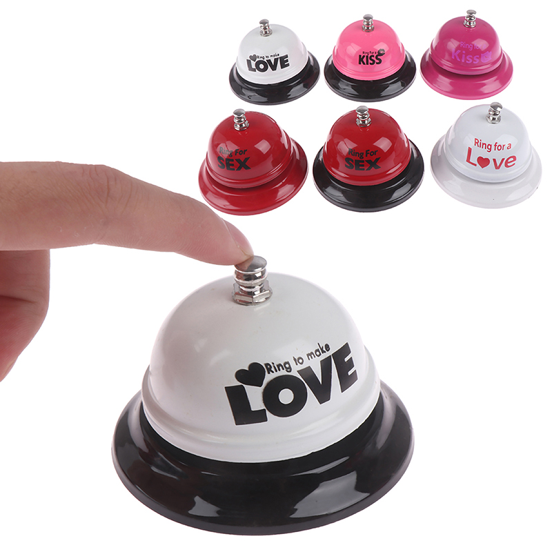 Adult Game Sex Bell Ring Toy Novelty Gift Bachelorette Bachelor Party SM Adult Games Erotic Sex Toys For Couple Flirting