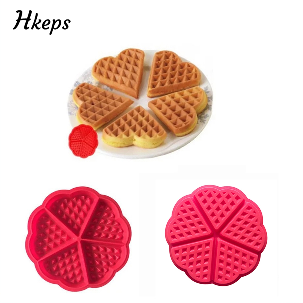 Food Grade Silicone Cake Molds Waffle Moulds Bakeware DIY Modle Kitchen Cooking Cake Makers Tools Baking Accessories Supplies