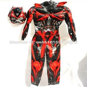 Image 2 - 2020 костюм супергероя из фильма Оптимус Прайм бумблби мускул для костюмированной вечеринки Детский костюм на карнавал, Хэллоуин, подарки