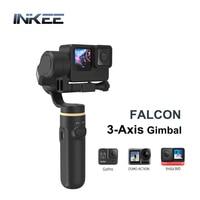 INKEE FALCON stabilizzatore cardanico palmare a 3 assi per Action Camera antivibrazioni per Action cam Osmo Action Insta360 Hero 9 8 7 6 5 4