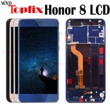 """עבור Huawei Honor 8 LCD תצוגת מסך מגע עבור Honor8 LCD עבור 5.2 """"Huawei Honor 8 LCD עם מסגרת FRD L19 FRD L09 החלפה"""