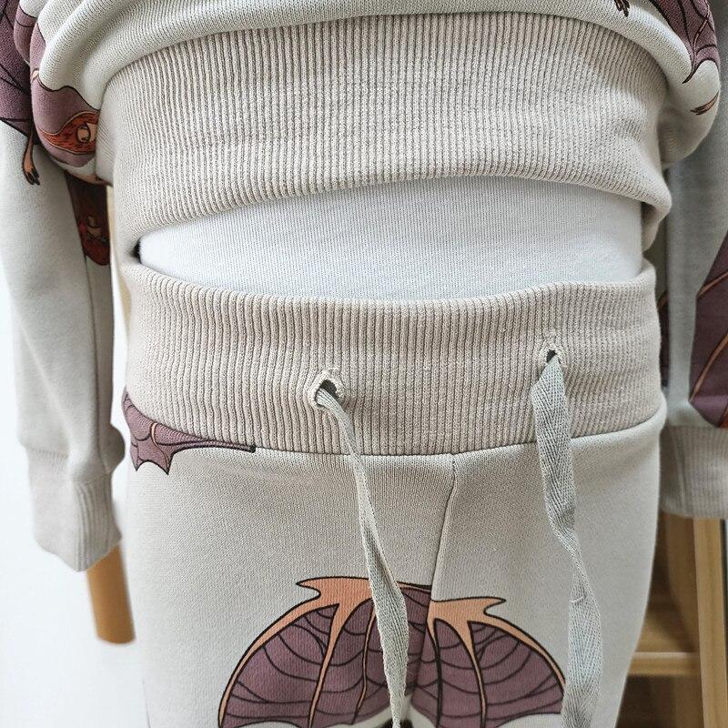 2021 spring autumn boys brand clothes children Hoodies & Sweatshirts boy cotton bat print kids sweatshirts fleece 6