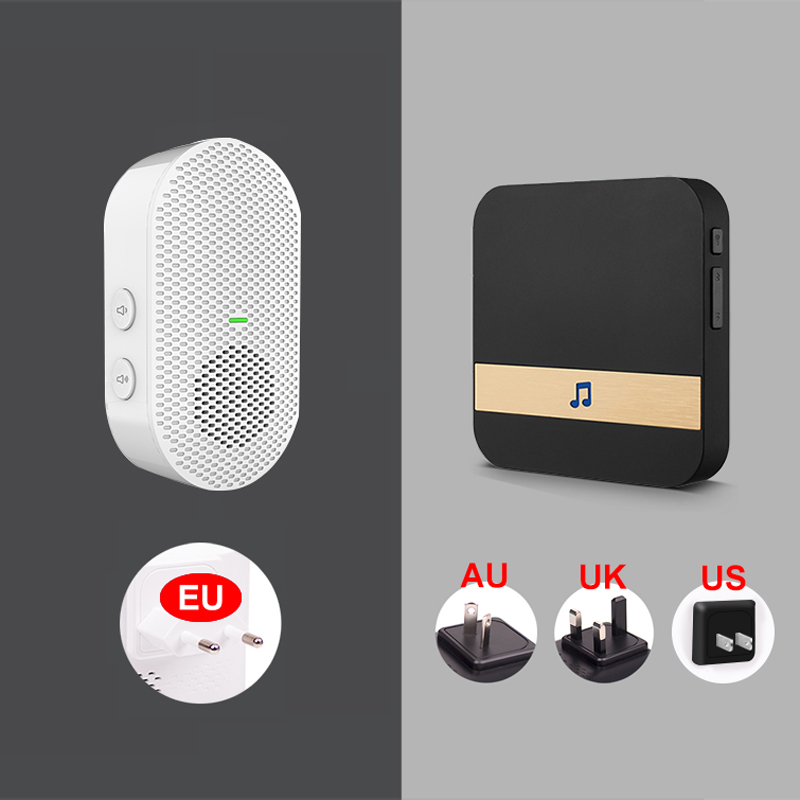 EKEN Bell Camera Video Intercom Phone-Door WIFI Ir-Alarm Smart Wireless IP V5