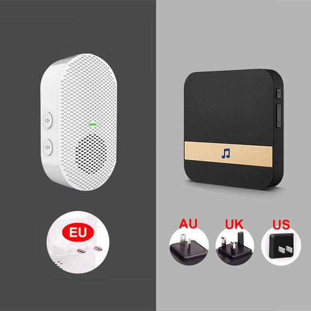 EKEN V5 Smart IP wideodomofon WIFI wideodomofon dzwonek do drzwi wizjer wbudowaną kamerą wi-fi IR Alarm bezprzewodowa kamera do monitoringu