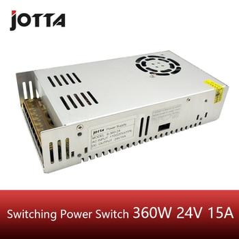 цена на 360W 24V 15A LED Strip CNC 3D Print Small Volume Single Output Transformer AC To DC Switching power supply