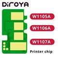 W1105A W1106A W1107A 105A 106A 107A чип тонер-картриджа для HP Laser M107 M107a M107w MFP M135 M137 M135a M137fnw M 135a 137fnw