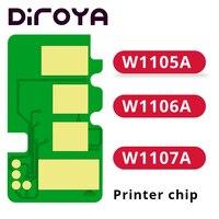 W1105A W1106A W1107A 105A 106A 107A MFP chip do cartucho de toner Para Laser HP M107 M107a M107w M135 M137 M135a M137fnw M 135a 137fnw|Chip do cartucho|   -