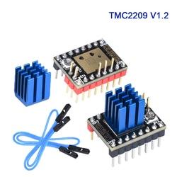 Bigtreetech tmc2209 v1.2 stepper driver do motor de passo uart stepsticks vs tmc2208 tmc2130 para skr v1.3 pro e3 mks placa impressora 3d painel