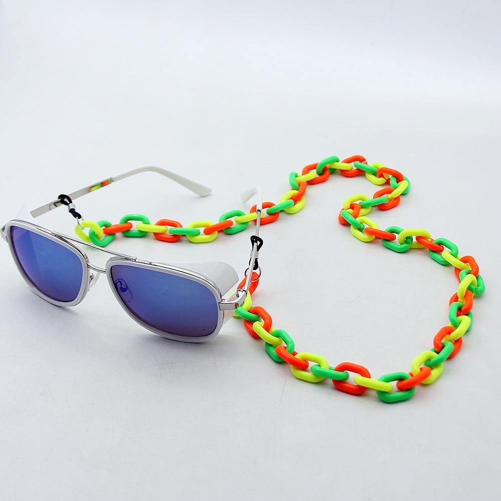 neon glasses chains