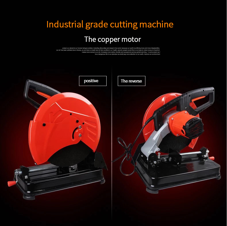 H0f249a7308b04e438c38d257f62c6985b - Anjieshun 350 Metal Cutting Machine Wood Aluminum Machine Dual-use Household  Multi-function Cutting Machine High-quanlity tool