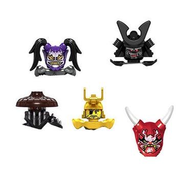 Mirage Ninjagoed-figuras de acción con armas para niños, bloques de construcción, juguetes...