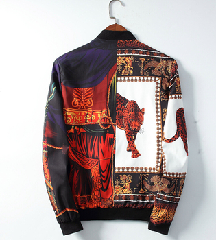 New Casual Bomber Jacket Men Crown Printed Streetwear Jaqueta Masculina Chaquetas Hombre Veste Homme Casaco Masculino 2020 new