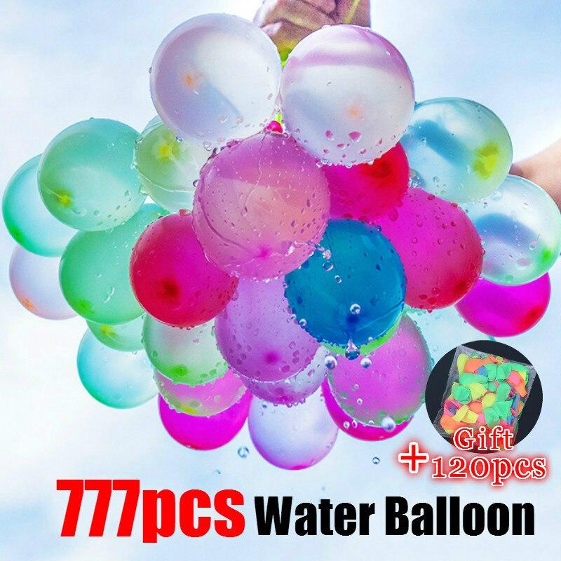 777pcs Water Balloon Amazing Filling Magic Balloon Children Water War Game Supplies Kids Summer Outdoor Beach Toy Party