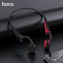 HOCO kemik iletim Bluetooth kablosuz kulaklık Stereo kulaklık spor kulaklık titanyum su geçirmez kulaklık koşu sürüş
