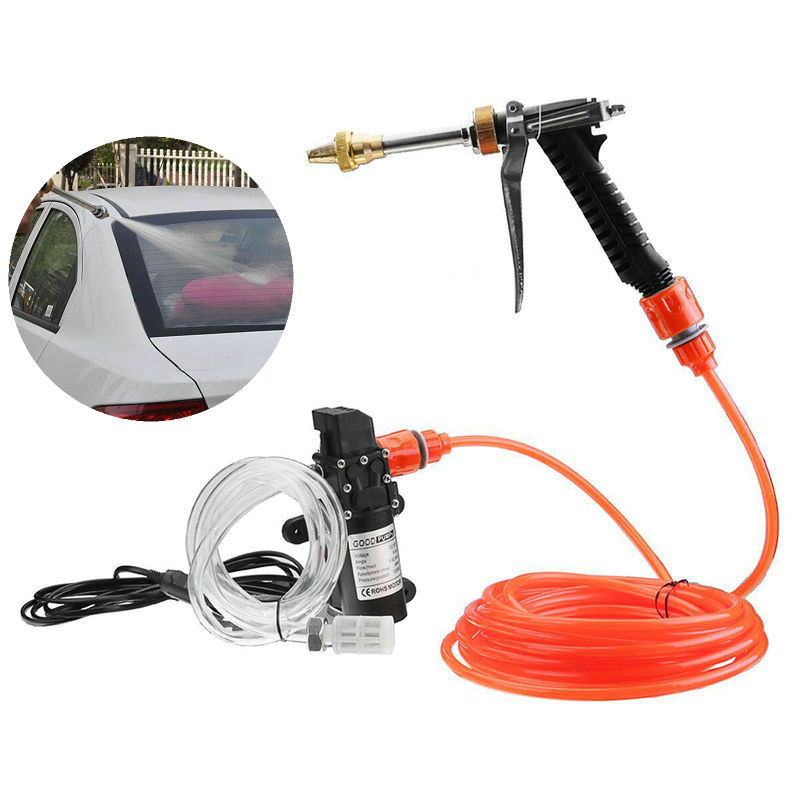 High Pressure Wash Water  Wash Cleaning Watering Lawn And Garden Pump Kit Sprayer Gun Car Sprinkle 12V 65W