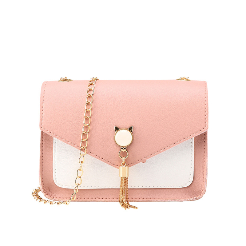 2019 Fashion Tassel Package Letter Purse Mobile Phone Bag Shoulder Small Ladies Tote Handbag Women Messenger Bags