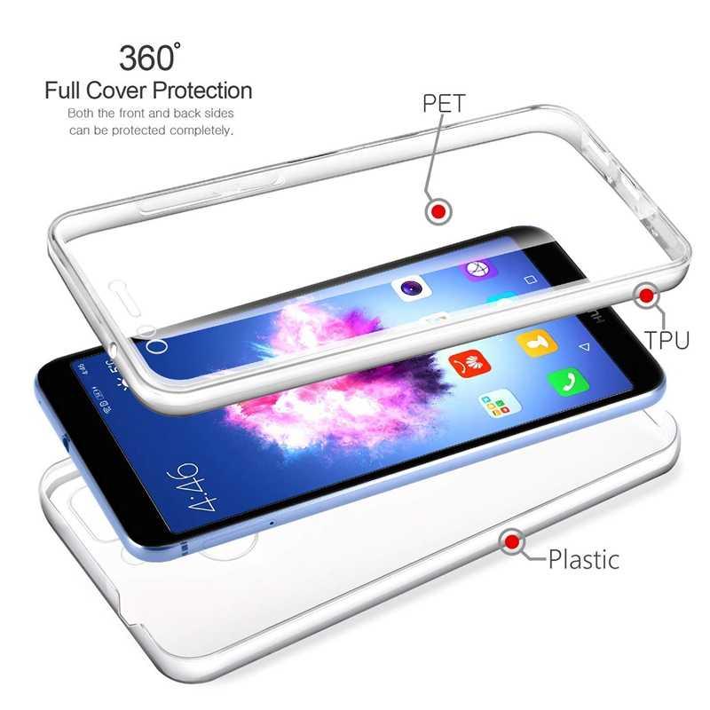 360 כפול מלא טלפון מקרה עבור Huawei Y5P Y6P Y7 Y8P Y9S פרו ראש 2017 2018 2019 נובה 2i 3i 5i 5T 6 7i SE פרו כיסוי מעטפת מקרה