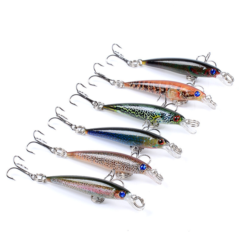 1 Pcs 5cm 2.2g Super Magnet Weight System Long Casting New Model Fishing Lures Hard Bait 2021 Quality Wobblers Minnow