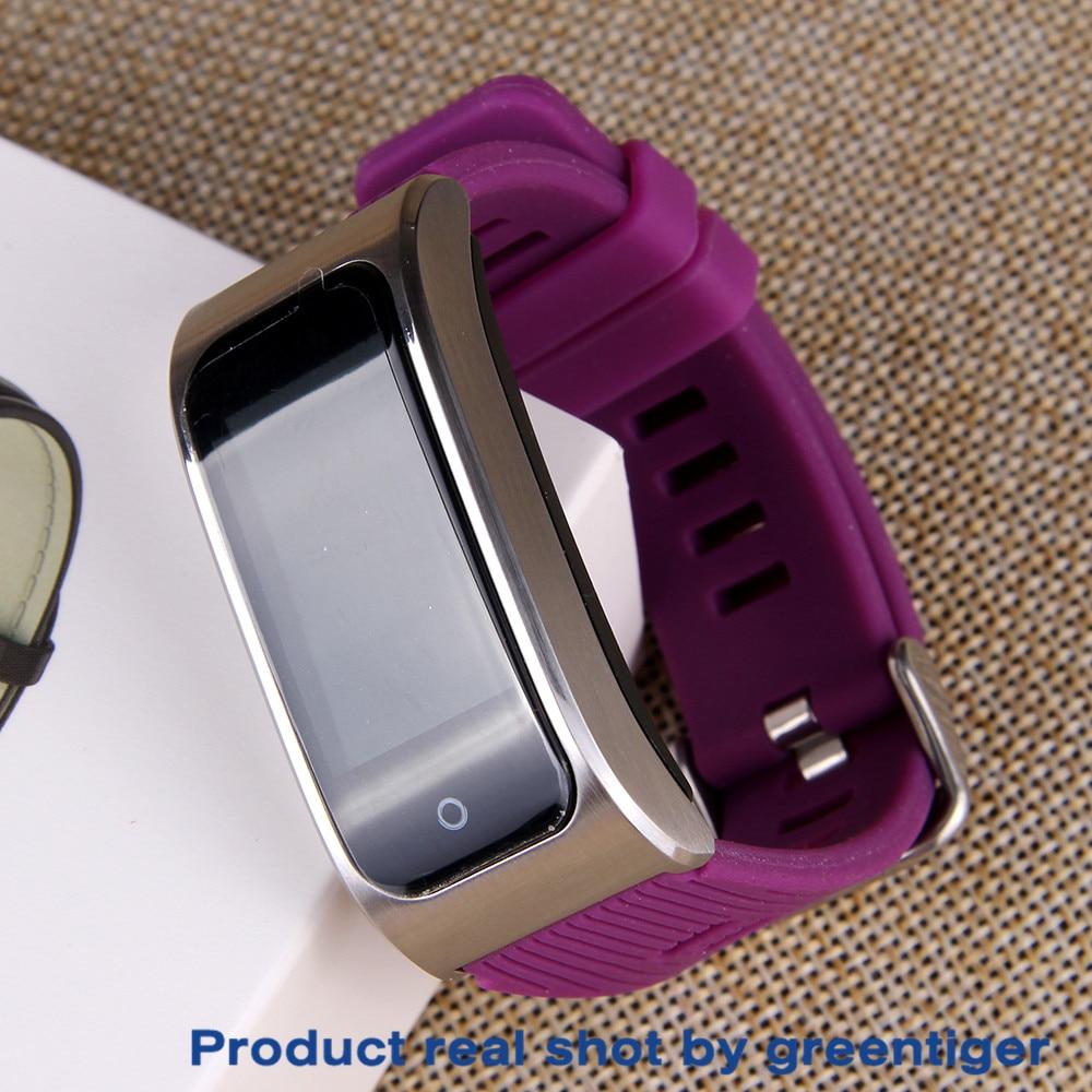 H0f25a12cb7d7409e92f4b1dbdc01702ao Greentiger AK12 Smart bracelet Men Women IP68 Waterproof Blood Pressure menstrual cycle monitor Fitness Tracker Smart band