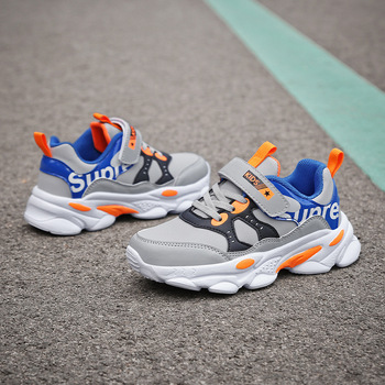 SKOEX Kids Boys Running Shoes Tennis Casual Sneakers Breathable Boys Sport Trainers Shoe Children Fashion Sneaker Tenis Infantil