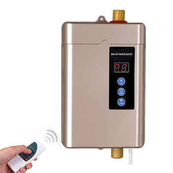 110/220V Instant Electric Water Heater Faucet Intelligent Touch Heating Fast 3 Seconds Hot Shower with Temperature Display 4000W цена 2017