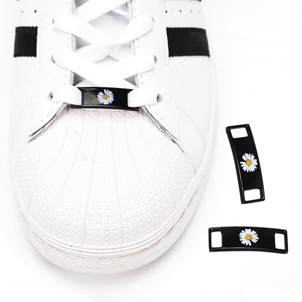2pcs/pair Shoelace Buckle Metal Shoelaces Magnetic buckle Accessories Metal Lace Lock DIY Sneaker Kits Metal Lace Buckle