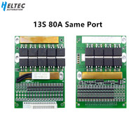 6S 13S 25A 35A 50A 80A 150A BMS Balance Board 24V 36V 48V Ternary Lithium/LiFePo4  Battery Protection Board power tools 7s 8s 10|Battery Accessories|   -