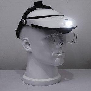 Image 4 - Głowica reflektora lupa lupa o wysokiej rozdzielczości czytanie konserwacja optyczna specjalna 1.0X 1.5X 2.0X 2.5X 3.5X 5 lupa obiektywu