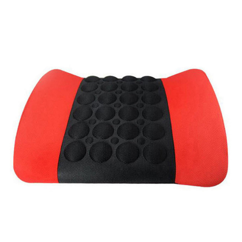 2019 Car Seat Electric Back Massager Massage Vibration Waist Pillow Cushion for Lumbar Support CSL88