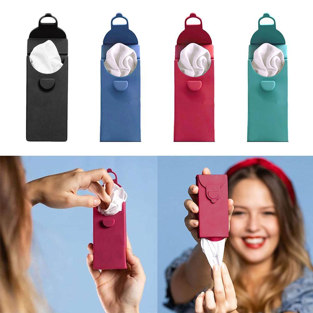 6Pcs Portable Reusable Cotton Handkerchief Small Square Towel With Carry Box Poszetka Garnitur платки носовы Fast Shipments