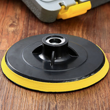6inch M14 Car Polisher Bonnet Backing Pad Angle Grinder Wheel Sander Paper Disc Car Polishing Pad Cleaning Tools Dianeter 150mm