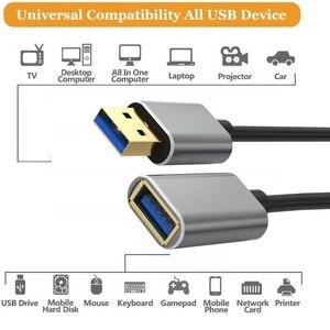 Image 5 - Dây Cáp USB 3.0 Nối Dài Cáp Mở Rộng Cho Bàn Phím TV PS4 Xbo Một SSD USB3.0 2.0 Mở Rộng Dữ Liệu Dây Mini USB cáp Nối Dài