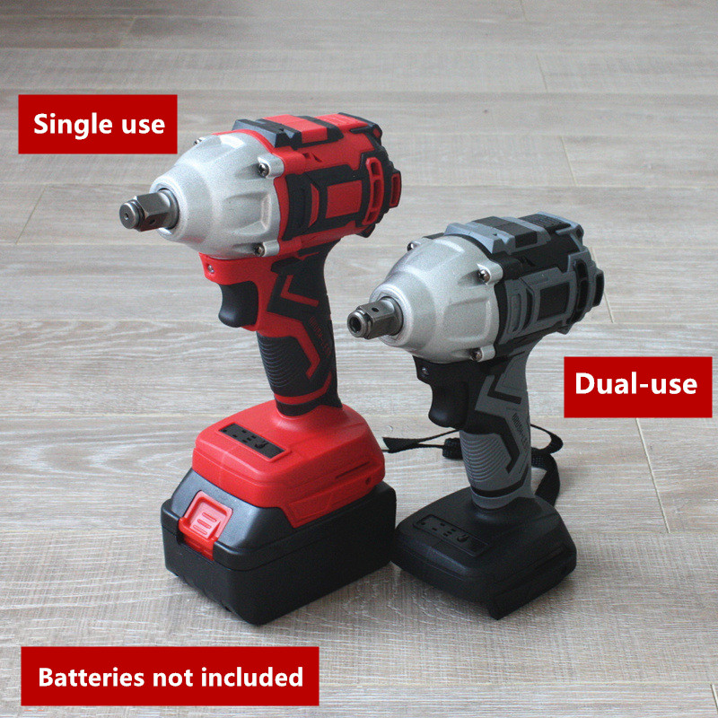 18V 588 N m Electric Brushless Impact Wrench For Makita Battery Rechargeable 1 2 Socket Wrench Drill Driver Power Tool Cordless