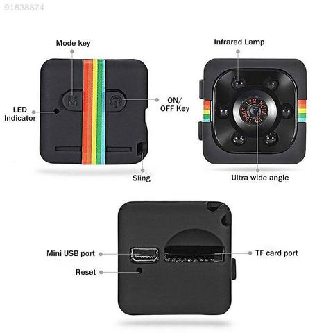 Limited Time Reserve Price Clearance Mini Camera HD 960P Sensor Night Small Camera Recorder Camcorders Support Motion Tracking Multan
