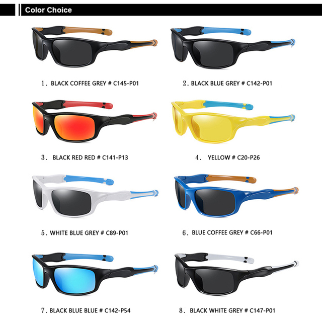 AIRLBRO Cycling Goggle 8 Color Polarized Sunglasses UV400 Cycling Sunglasses Men's Cycling Safety Glasses For Bicycle 5
