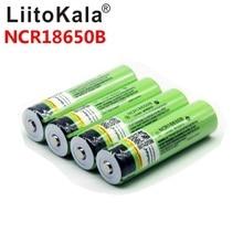 Liitokala 18650 3400mah nouvelle batterie Li ion Rechargeable originale NCR18650B 3000 3400 pour lampe de poche