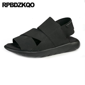 casual shoes roman italian strap elastic men gladiator sandals summer outdoor breathable black sneakers native sport japanese