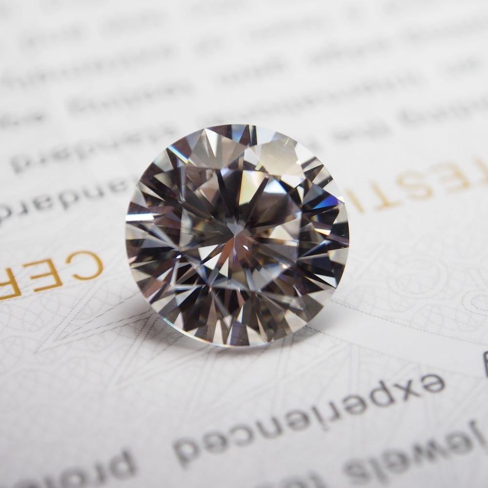 8mm DEF VVS Moissanite Super White Moissanite Diamond 2.0 กะรัตรอบ Moissanite-ใน เพชรร่วงและอัญมณี จาก อัญมณีและเครื่องประดับ บน AliExpress - 11.11_สิบเอ็ด สิบเอ็ดวันคนโสด 1