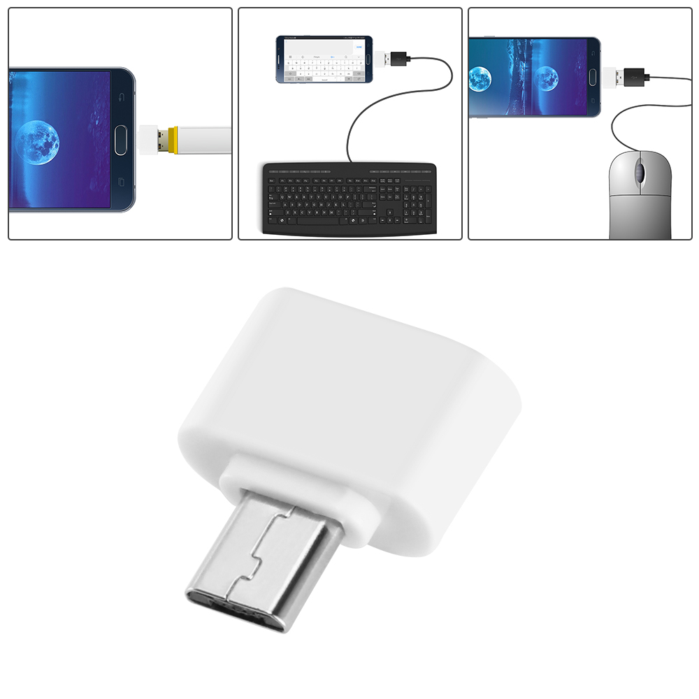 Usb 2.0 For Tablet PC Android Mini OTG Cable USB OTG Adapter Micro Female Converter Type C Adapter Micro USB To USB Converter