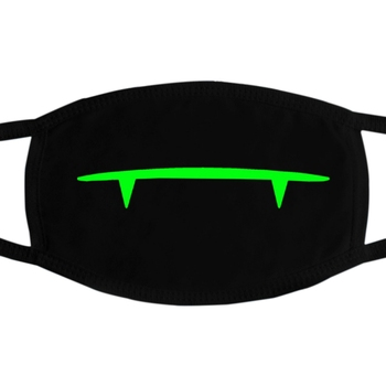 PM2.5 Dustproof Mouth Mask Anti Dust Luminous Face Masks With Horror Pattern Fast Drop Shipping 1