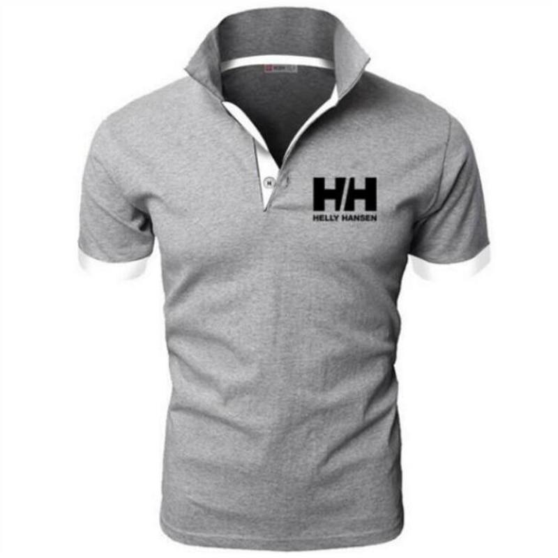 Mens   Polo   Shirt Brands Clothing 2019 Short Sleeve Summer Shirt Man Black Cotton Poloshirt Men Plus Size   Polo   Shirts homme
