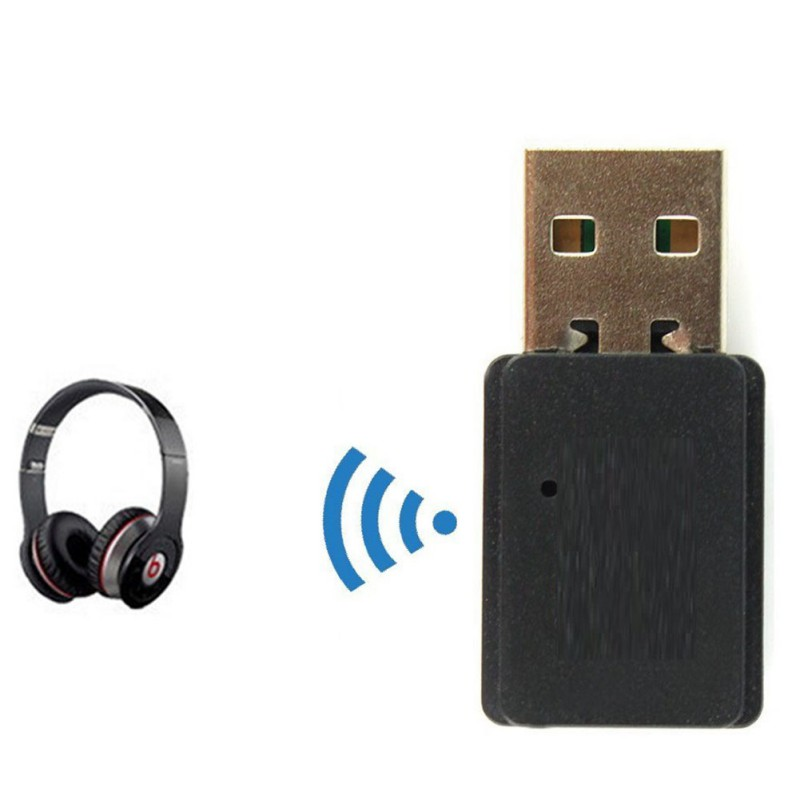 USB Bluetooth 5.0 Transmitter Wireless Dongle Adapter For Laptop PC Headset Music Speaker