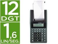 CALCULATOR CITIZEN PRINTER SCREEN PAPER CX 77 12 DIGITS BLACK